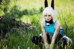 Ms. Fortune Cosplay - Cat in the Grass by the-mirror-melts