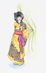 Furisode by GhostGriffin