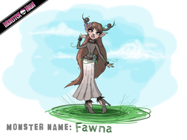 Monster High - Fawna by Cold-Creature