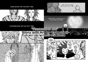 KH2 doujinshi sample 4 by pencafe