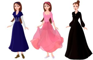 Disney Project - Wicked: Nessarose by LittleFabalaFae