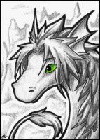 ACEO - Dragea by jrtracey