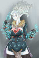 electric Witch by RyohjiHeavyIndustry