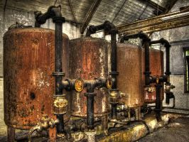 The Boiler Room by damagefilter