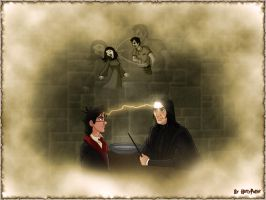 Occlumency Class with Snape by Harry-Potter-Spain