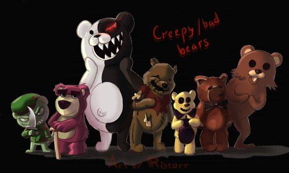 Creepy/Bad Bears by Ristorr