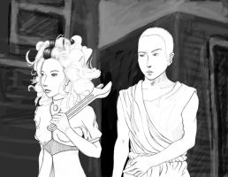Clubbing in Discworld WIP by zar33n