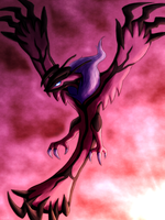 . Yveltal . by TheDogzLife