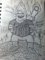 Gabe the Troll Newell as Hades by Antematter