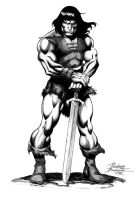 Conan ink by Buchemi