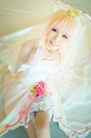 AFA'12 - Sheryl Nome (wedding dress) by macross-n