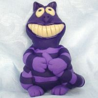 Cheshire Cat w glowing smile by CreativeCritters