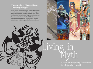 Living in Myth artbook preview