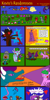 Kevin's Randomness #23 by BlueEvelyn
