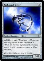 Arcbound Sliver by chrosis