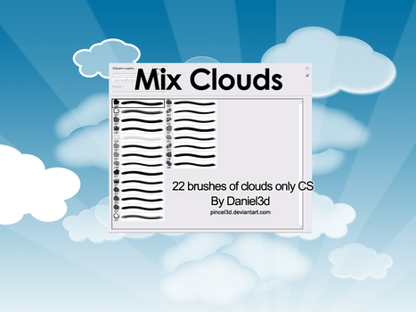 Mix Clouds - Brushes by pincel3d