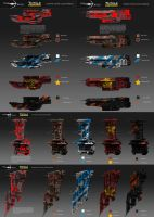 Ship colour examples by AdamBurn