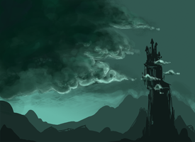 Castle in the Clouds by dapplet