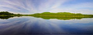 Two worlds in one lake by LInconnu24