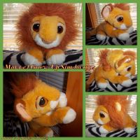 Mattel Grow-Up Simba 1994 by DoloAndElectrik