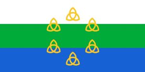 Flag of Pan-Celticism by SteamPoweredWolf