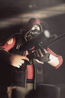 TF2 Sniper by Elayez