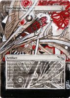 Magic Card Alteration: Isochron Scepter #4 by Ondal-the-Fool
