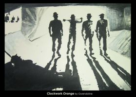 Clockwork Orange by Gwendoline