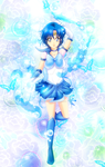Sailor Mercury by Nekoi-Echizen