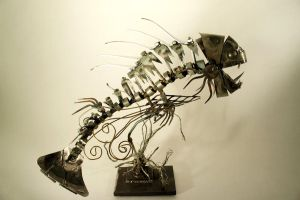 Scrap Metal Fishy - 9 by Devin-Francisco