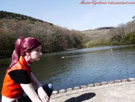 Claire Redfield: Code Veronica X Cosplay by MasterCyclonis1