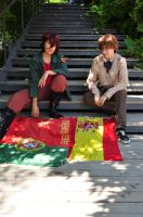 Hetalia Axis Powers: Iberian Brothers by BomBomPPGFan