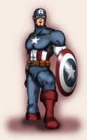 Captain America by greytei