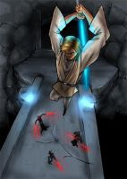 Jedi Catacombs by SquallLeonhart245
