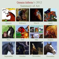 2012 Art Summary by oceans-inferno