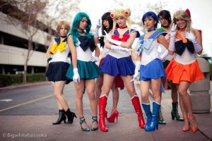 Sailor Scouts by Bheng-Bheng