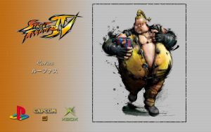 SFIV - Rufus - Wallpaper by iFab