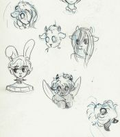 goatlings doobles by Moribond