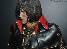 Captain Harlock - Hot Toys 1/6 Scale figure by Val8