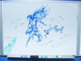 Whiteboard Wingstress by silverlimit