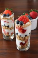 Berry Parfaits by LoveandConfections