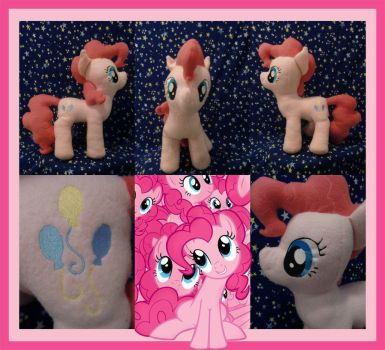 Pinkie Pie Plush by Meowplease