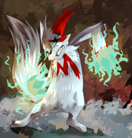 Zangoose Used Icepunch by KatieKahn