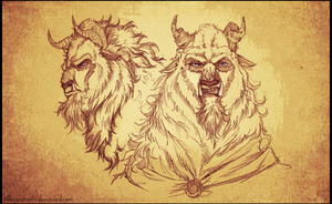 |Beast Sketches by Alexandrevla