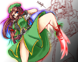 Hong Meiling by freezeex