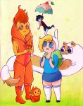 Adventure Time - Fionna and Cake by steamshade69