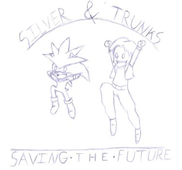 (Sketch) Saving the Future by AuraWing07