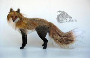 Red Fox Room Guardian FOR AUCTION! by AnyaBoz
