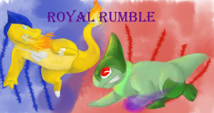 Royal Rumble Cover V2 by animalstomp