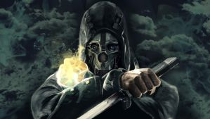 Dishonored - Corvo Attano Painting by geekyglassesartist
